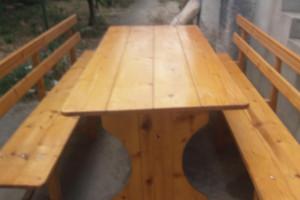 Снимка номер 1 за Дървена гарнитура