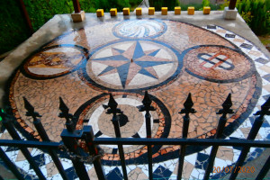 Снимка номер 1 за Мозайка Гауди. Изградена от теракотни или гранитогресни плочки