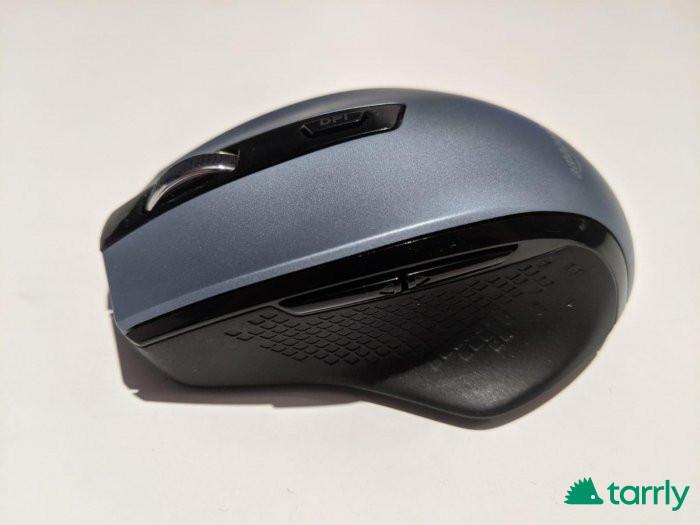 Снимка номер 1 за AmazonBasics - Ергономична безжична мишка - DPI регулируема