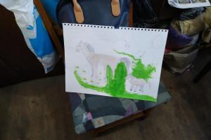 Снимка номер 1 за Детска школа по рисуване уикенд занимания