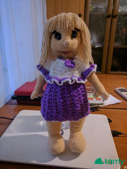 Снимка номер 1 за Продавам красиви детски играчки плетени на една кука