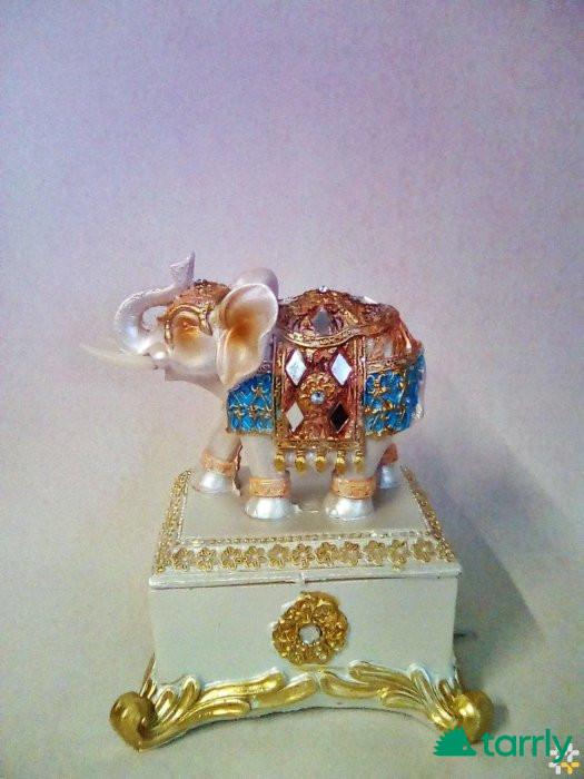 Снимка номер 1 за бижутерка-слон