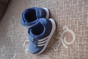 Снимка номер 1 за Детски маратонки ADIDAS сини, запазени