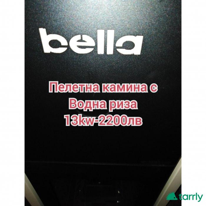 Снимка номер 1 за Пелетна камина BELLA отоплителни инсталации за всеки дом