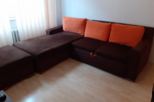 Снимка номер 1 за разтегателен диван с табуретка