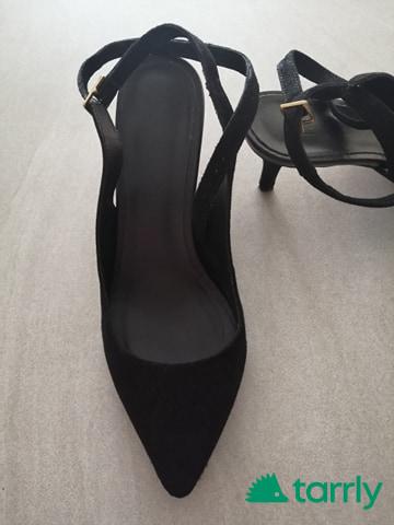 Снимка номер 1 за Дамски сандал велур, на ток - Office London