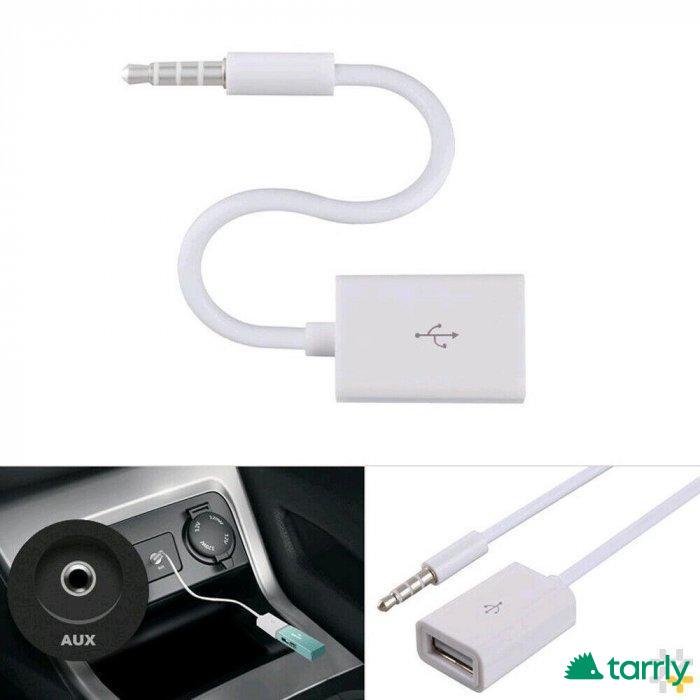 Снимка номер 1 за AUX кабел - женско USB Към 3.5мм жак