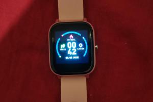 Снимка номер 1 за Смарт часовник Power Locus в цвят розово злато
