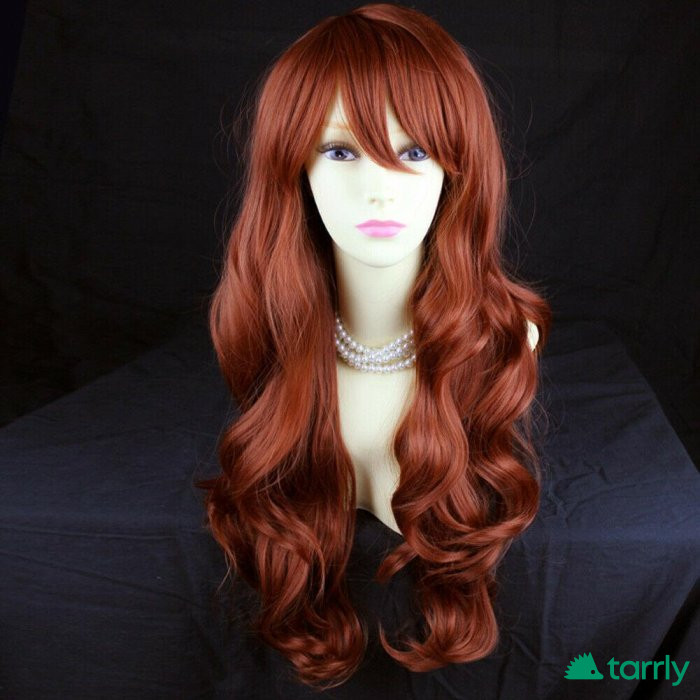 Снимка номер 1 за Английска перука в медено червен цвят
