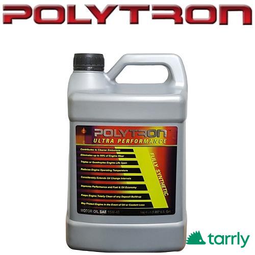 Снимка номер 1 за POLYTRON SAE 10W40 - Синтетично моторно масло - за 50 000км.
