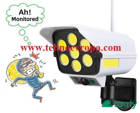 Снимка номер 1 за LED прожектор 200W + сензор и дистанционно