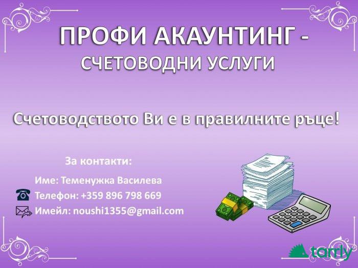 Снимка номер 1 за Счетоводни услуги