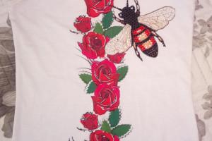 Снимка номер 1 за Бял потник - рози, С