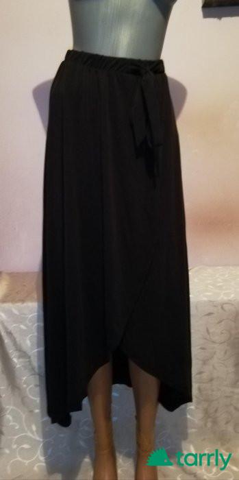 Снимка номер 1 за Нова черна асиметрична пола OBJECT