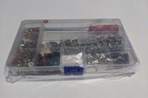 Снимка номер 1 за Комплект от 300 винтове за компютър с отвертка за твърд диск