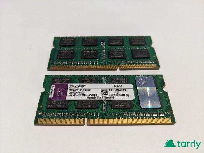 Снимка номер 1 за Памет за лаптоп KINGSTON 1333Mhz KVR1333D3S9 / 2G, 2 броя