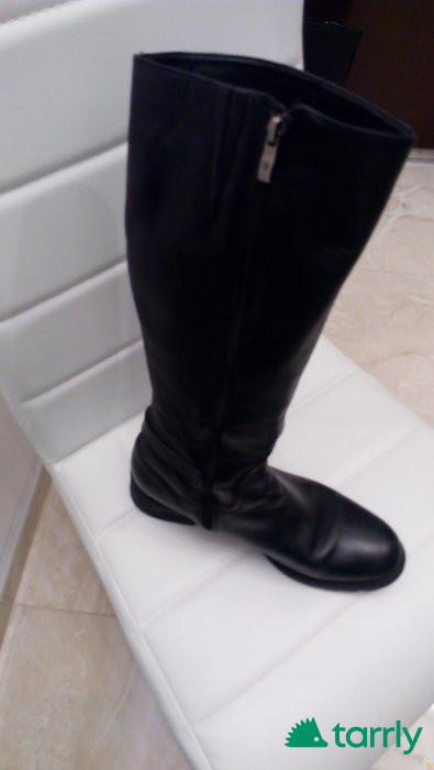 Снимка номер 1 за Български нови ботуши естествена кожа,41 номер