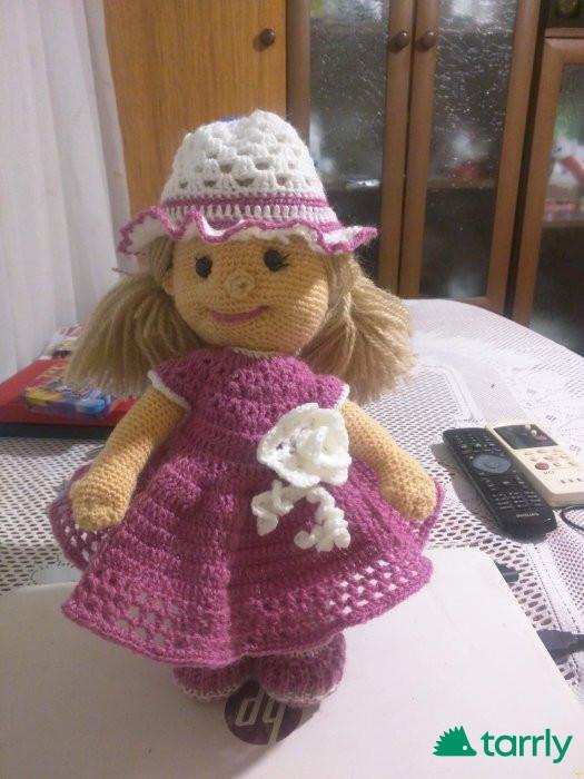 Снимка номер 1 за Продавам ръчно изработени играчки-кукли и други
