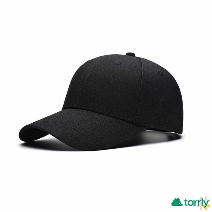Снимка номер 1 за Черна бейзболна шапка с козирка унисекс