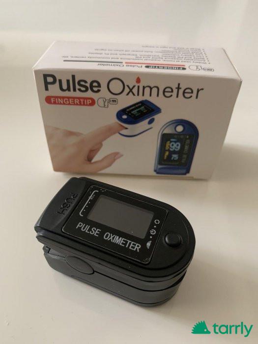 Снимка номер 1 за Оксиметър /включени батерии и безплатна доставка/