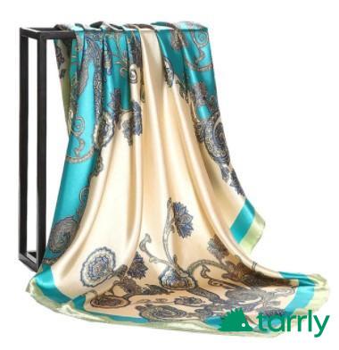 Снимка номер 1 за Копринени кърпи /шалове/ за глава