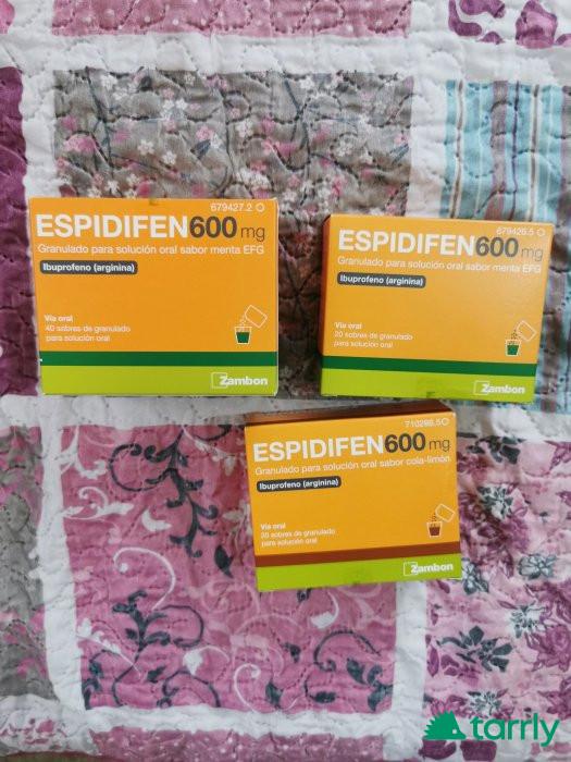 Снимка номер 1 за Еспидифен 600мг.от Испания