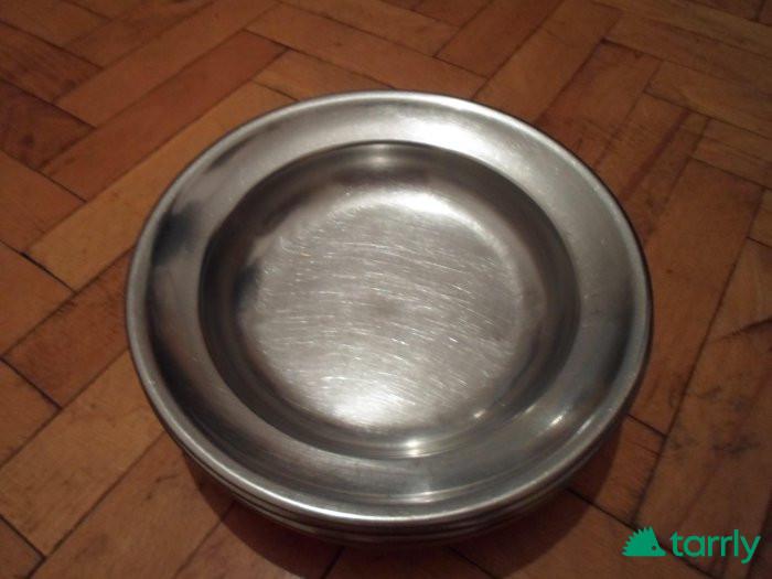 Снимка номер 1 за Дълбоки и плитки  чиний от алпака