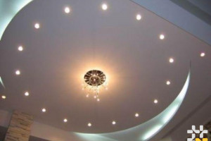 Снимка номер 1 за Поставяне на гипсокартон, тавани, стени, фигури, предстенна обшивка, шпакловки