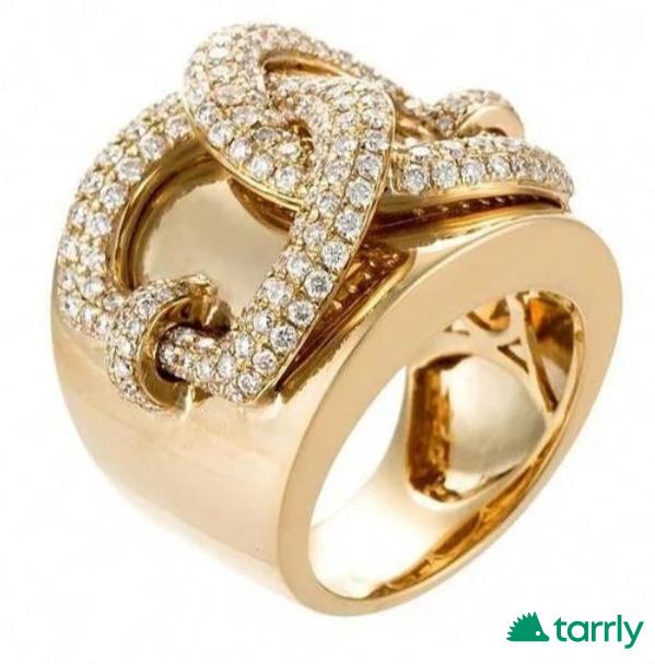 Снимка номер 1 за Дамски пръстен злато и циркон, нов