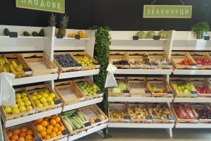 Снимка номер 1 за Стелажи за плодове и зеленчуци!