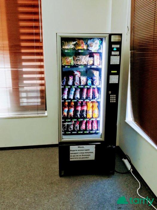 Снимка номер 1 за Обслужваме със снакс вендинг автомати