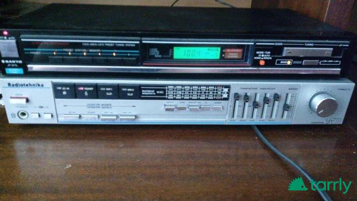 Снимка номер 1 за продавам аудиоусилвател радиотехника У7111