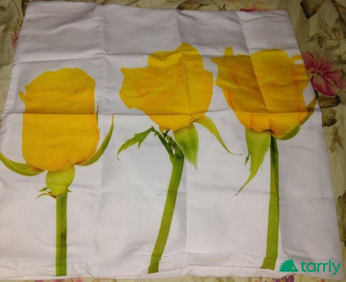 """Снимка номер 1 за Калъфка """"Жълти рози"""" нова"""